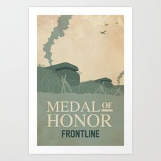 Medal of Honour - Frontline Art Print