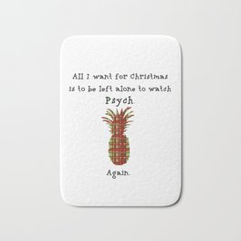 Xmas gift for Psych-os! Bath Mat