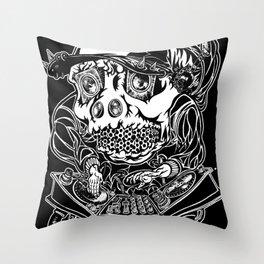 DJ Hardkore Throw Pillow