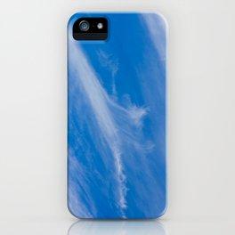 Cirrus Clouds iPhone Case