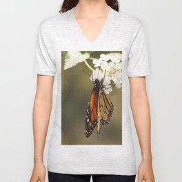 Monarch Unisex V-Neck