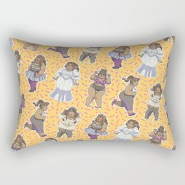 Fatshion! Rectangular Pillow