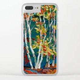 In the Northland / Dennis Weber / ShreddyStudio Clear iPhone Case