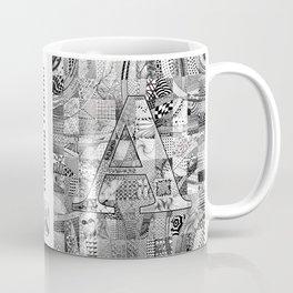 The Letter A Coffee Mug