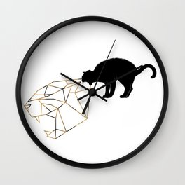 Let Your Tiger Out Wall Clock