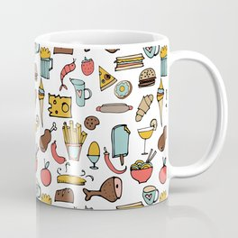 Food Frenzy white #homedecor Coffee Mug