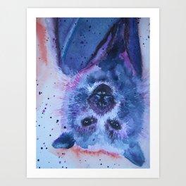 Beautiful Bat Art Print