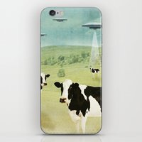 anaconda iPhone & iPod Skins featuring we all like burgers _ US AND THEM  by Vin Zzep