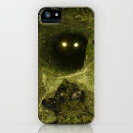 Black Cat Dancing iPhone Case