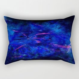 Magenta Storm Rectangular Pillow