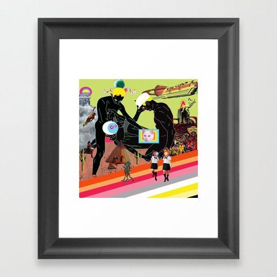 for the keds Framed Art Print
