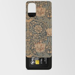 Honeysuckle by William Morris 1876 Antique Vintage Pattern, CC0 Spring Summer Android Card Case