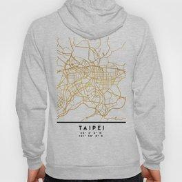 TAIPEI TAIWAN CITY STREET MAP ART Hoody