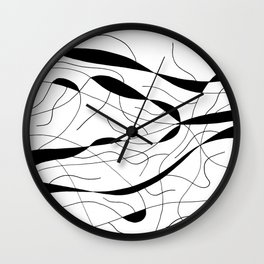 Dumbfounded Wall Clock