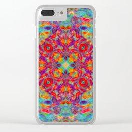 Mandala of Joy Clear iPhone Case