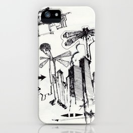 EXIT SERIES 2 iPhone Case