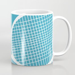 Tennis Indoor Smach Racket Coffee Mug