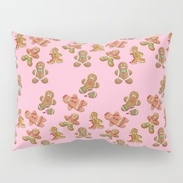 Android Eats: gingerbread pattern Pillow Sham