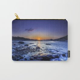 sunrise over horizon at seashore at dawn Carry-All Pouch