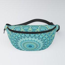 Turquoise Treat - Mandala Art Fanny Pack