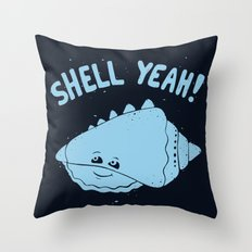 (S)HELL YEAH! Throw Pillow