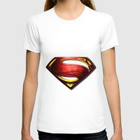 man of steel T-shirts featuring Man of Steel by bimorecreative