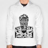 sandra dieckmann Hoodies featuring Sandra Bland - Black Lives Matter - Series - Black Voices by NOxLA