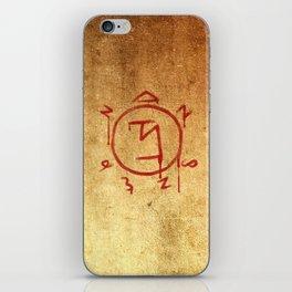 Supernatural Angel Banishing Sigil iPhone Skin