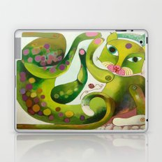 Crazy Sea Cat Laptop & iPad Skin