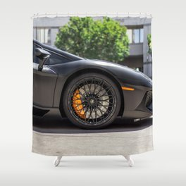 Sports Car Shower Curtain