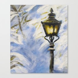The Lamppost Canvas Print