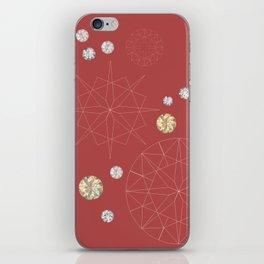 Diamonds for you iPhone Skin