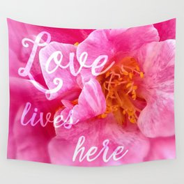 camellia flower wall tapestries society