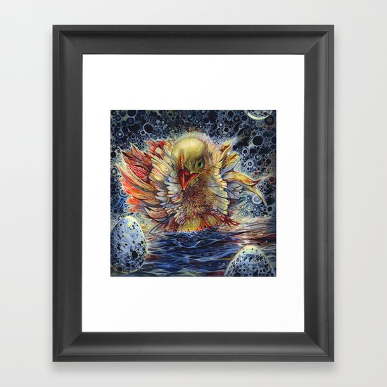 HATCH Framed Art Print