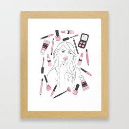 Make Me Up II Framed Art Print
