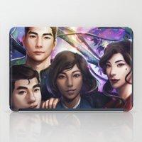 legend of korra iPad Cases featuring The Legend Of Korra by Meder Taab