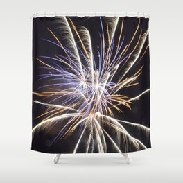 Fireworksf Shower Curtain