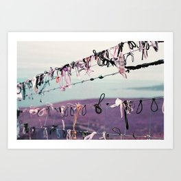 Tradition at the Cliffs of Moher Art Print