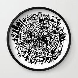 Doodleball Wall Clock