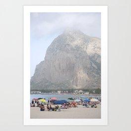 San Capo Lo Vito Art Print