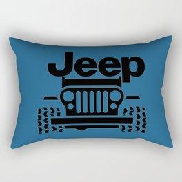Jeep Classic Rectangular Pillow