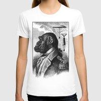 ape T-shirts featuring APE COMMANDER by DIVIDUS