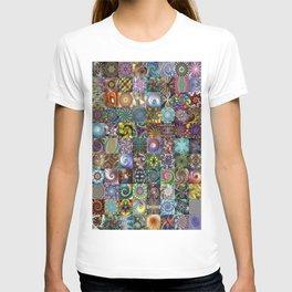 Fractals Montage T-shirt