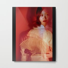 Beyond red Metal Print
