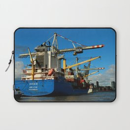 Container Ship Laptop Sleeve