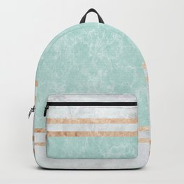 Pastel Marble Abstract Composition #2 Backpack