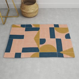 Painted Wall Tiles 01 Rug