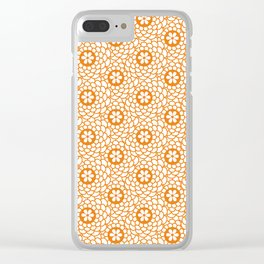 pattern 103 Clear iPhone Case