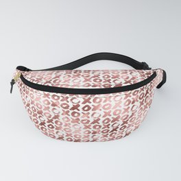 XOXO Kiss Me Rose Gold Pattern 2 Fanny Pack