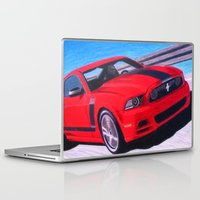 boss Laptop & iPad Skins featuring Boss by Brian David